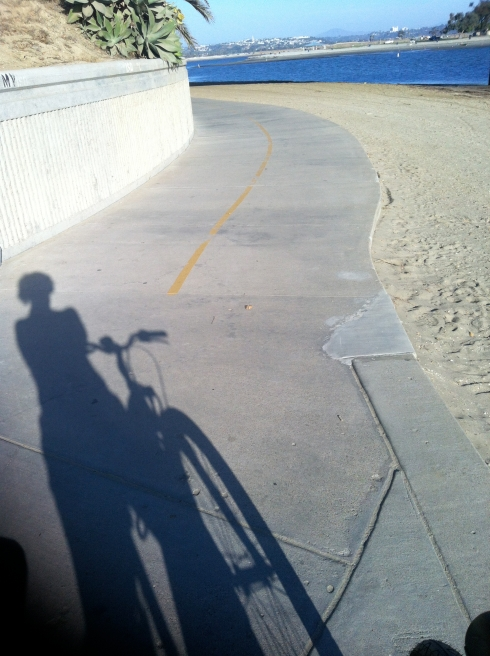 Riding a bike is a great workout that allows me to enjoy the last days of Summer