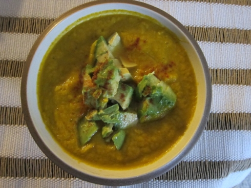Raw Carrot Ginger Soup