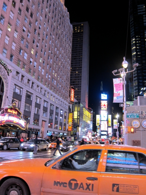 The city that never sleeps...
